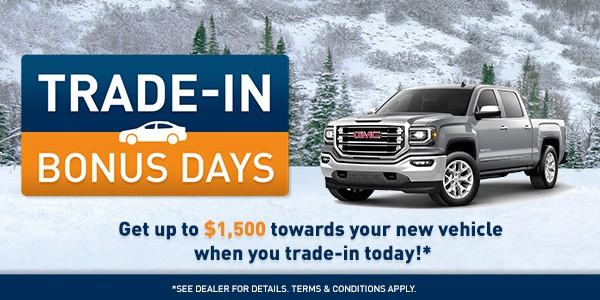 Trade In Bonus Days
