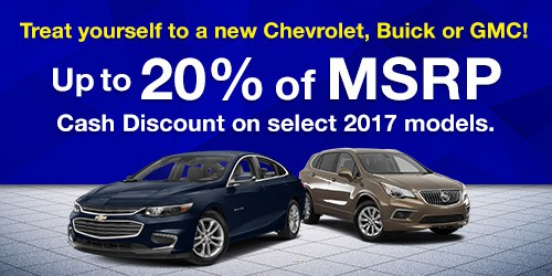 July Specials: Up to 20% of MSRP