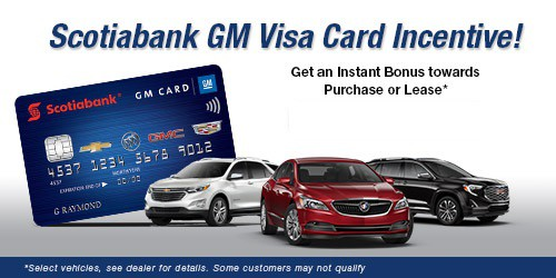 GM Card Bonus Offer!