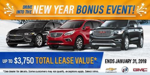 New Years Bonus Event