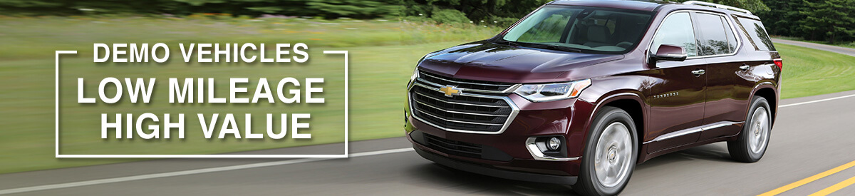 Chevrolet, Buick and GMC demo vehicles in Toronto