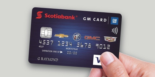 GM Scotiabank Visa Card Rewards Program