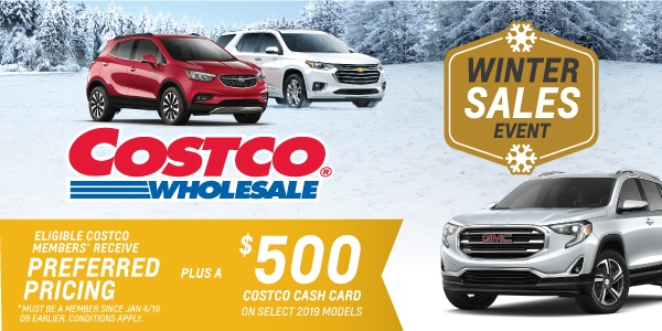 Humberview Chevrolet Buick GMC Costco Member Incentive Program