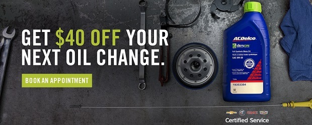 Get $40 Off Your Next Oil Change