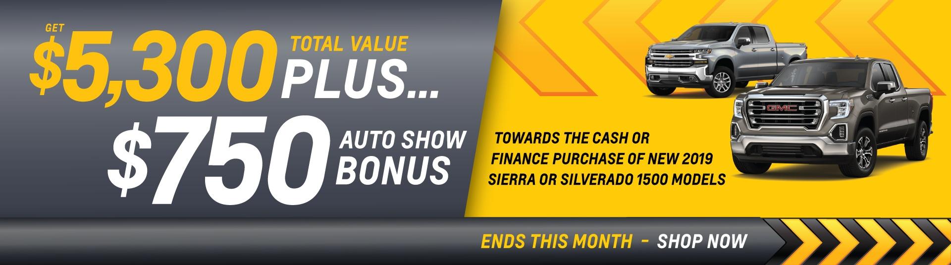 GM auto bonus