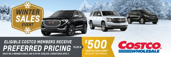Humberview Chevrolet Buick GMC Costco Promotion