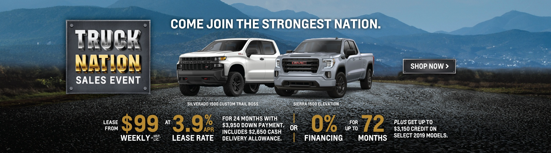 Humberview Chevrolet Buick GMC Truck Nation Promotion in Toronto