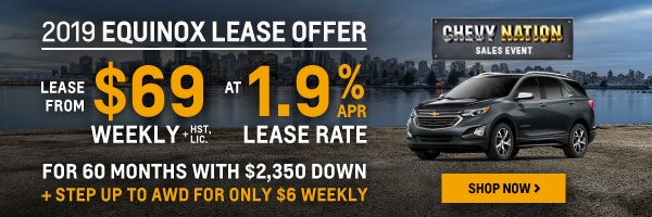 New 2019 Chevrolet Equinox Sales in Toronto