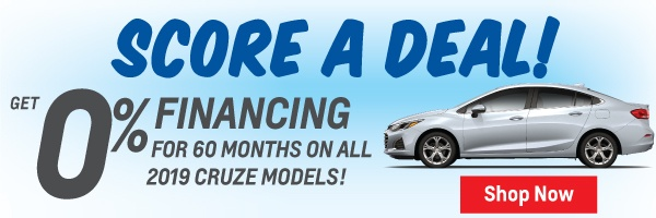 Special Finance Offer for Chevrolet Cruze in Toronto