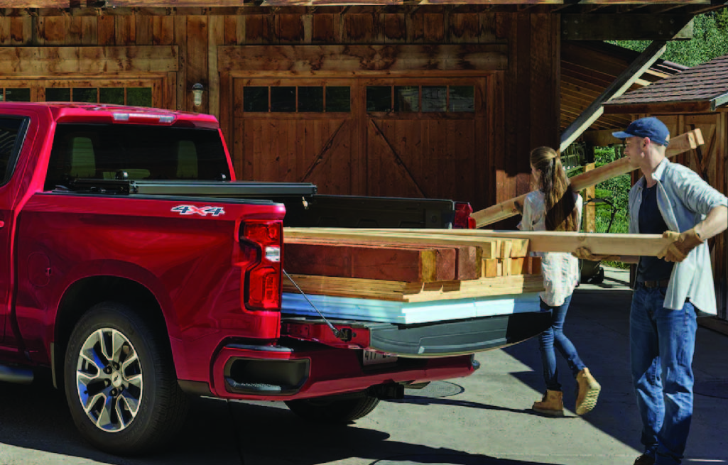 Chevrolet Silverado Carries Loaded Weight
