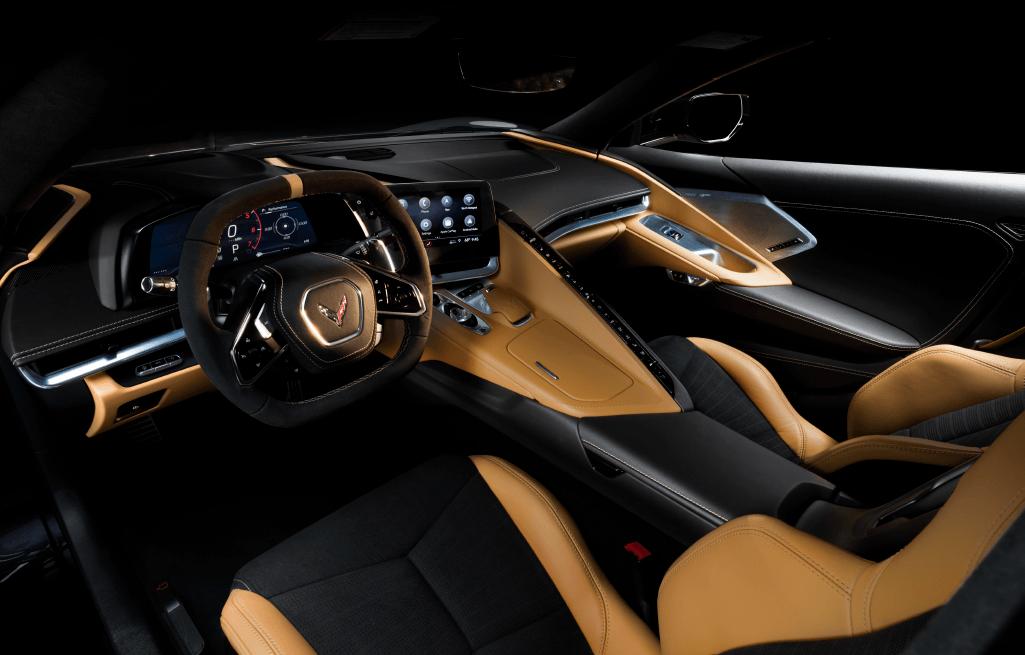 2020 Chevrolet Corvette Stingray Interior Design