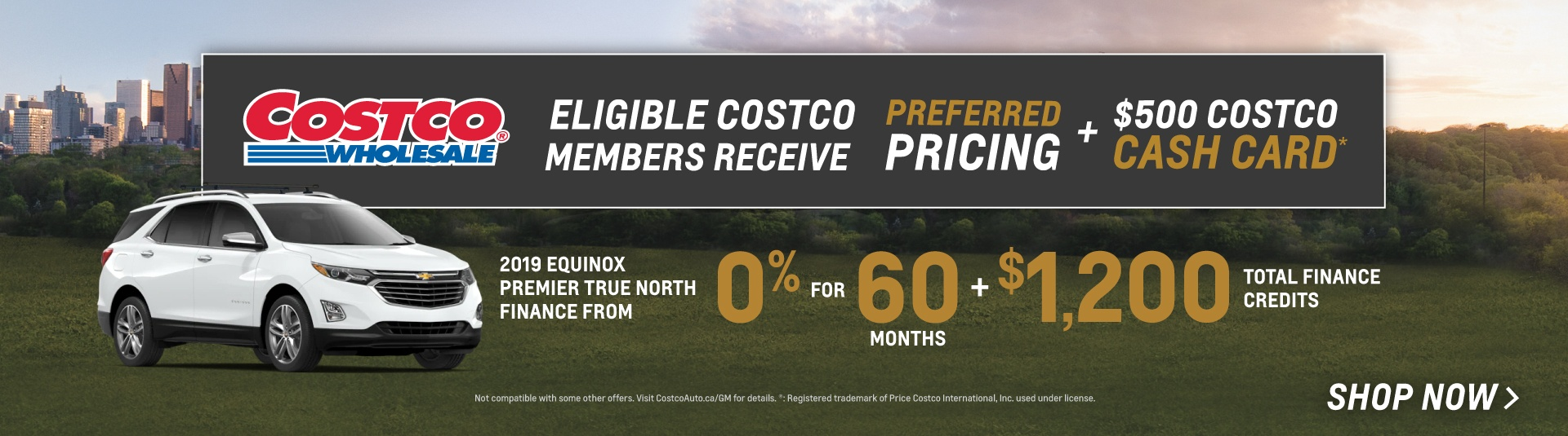 2019 Chevrolet Equinox Offer in Etobicoke