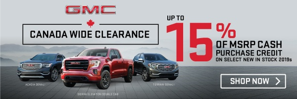 Humberview GMC Clearance Event in Etobicoke