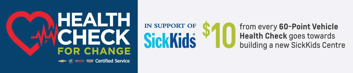 Humberview GM Health Check Service Sick Kid Special