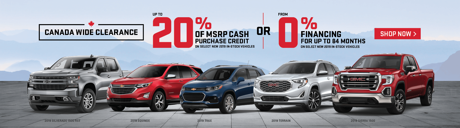 Humberview Chevrolet and GMC Clearance Event in Etobicoke