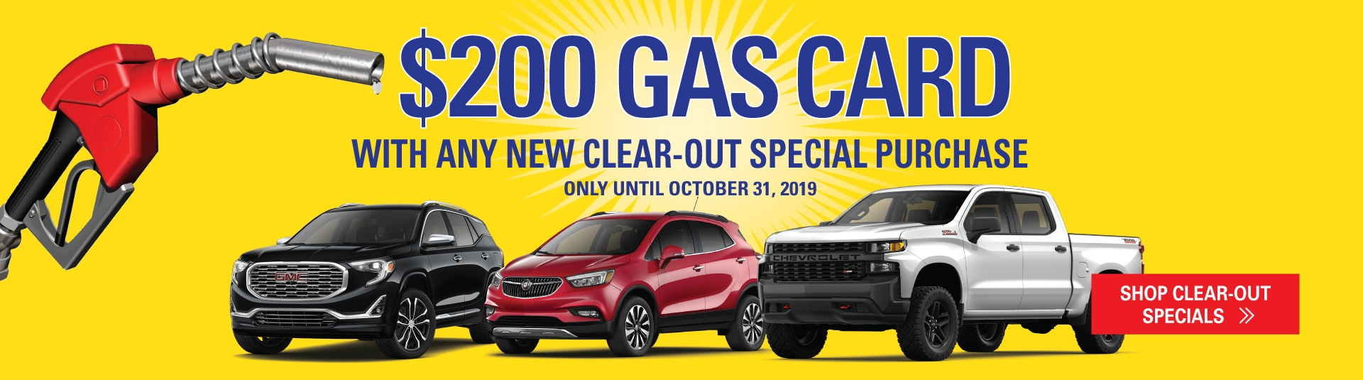 Humberview GM Clearout Specials