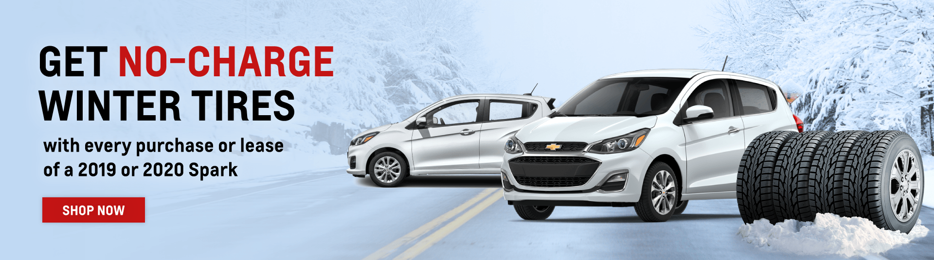 Chevrolet Spark Winter Tire Promotion in Etobicoke