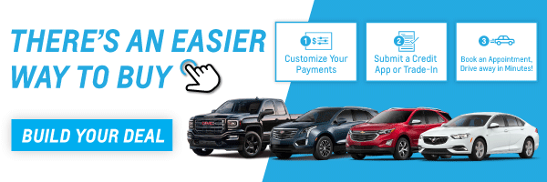 Shop Chevrolet, Buick or GMC Vehicles Online