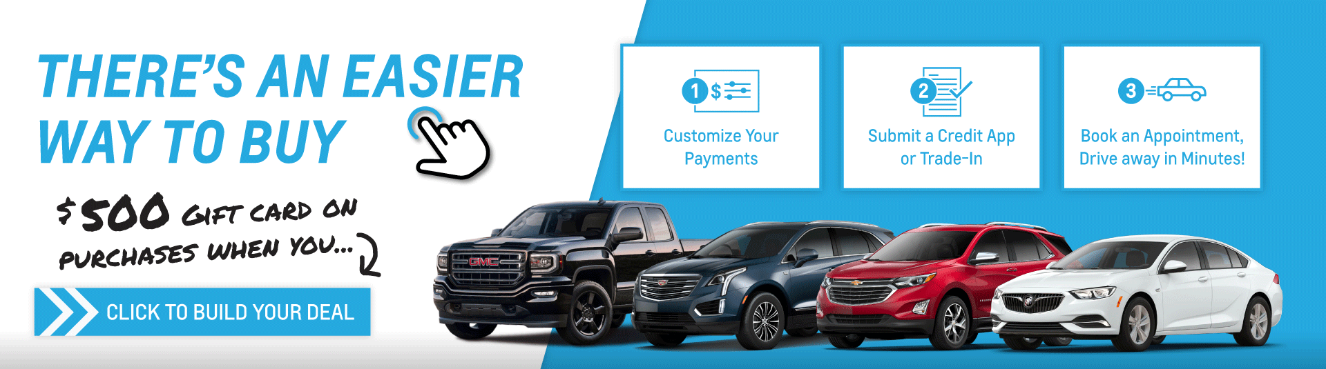 Humberview Chevrolet Buick GMC Online Shopping Tool & Get $500 Gift Card