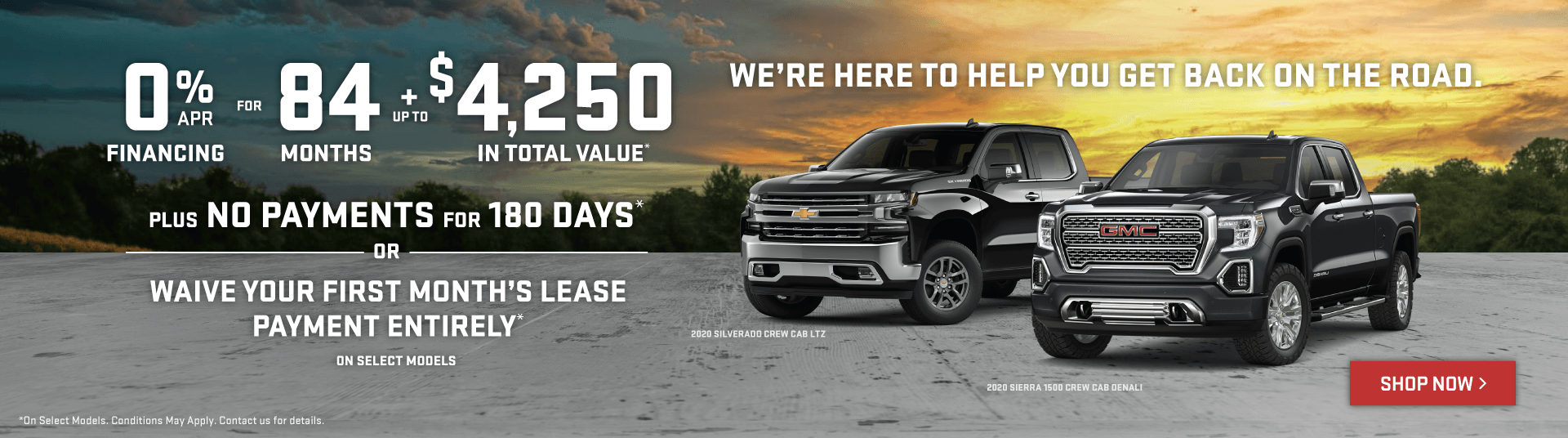 Chevrolet Silverado and GMC Sierra Offers in Etobicoke