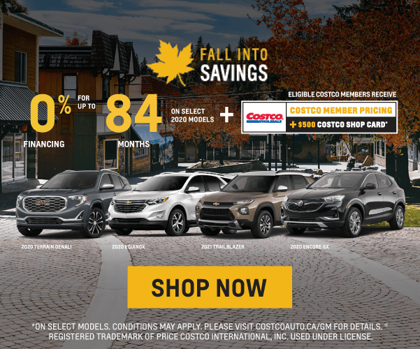 Chevrolet, Buick and GMC Fall Into Savings Sales Event in Etobicoke