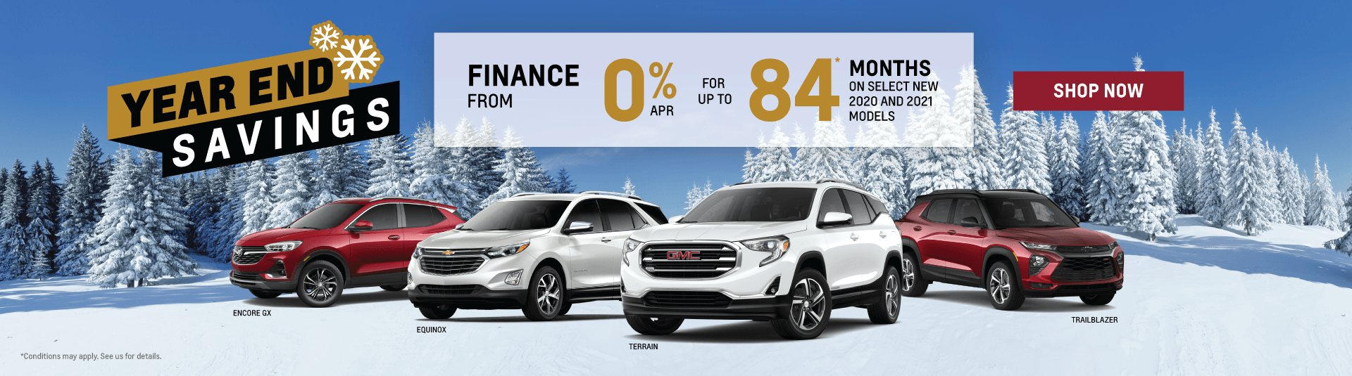 Chevrolet, Buick and GMC SUV Offers in Etobicoke