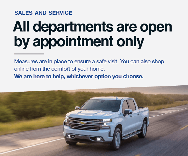 Humberview Chevrolet Buick GMC - Showroom and Service Open By Appointment Only