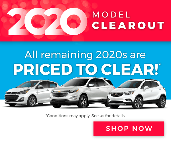 Chevrolet, Buick, and GMC Model Clearout in Etobicoke