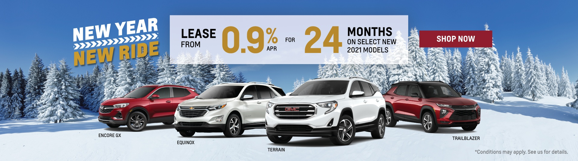 Chevrolet, Buick and GMC 2021 SUV Offers in Etobicoke
