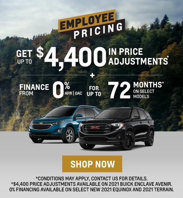 Chevrolet, GMC, Buick SUV Offers in Etobicoke