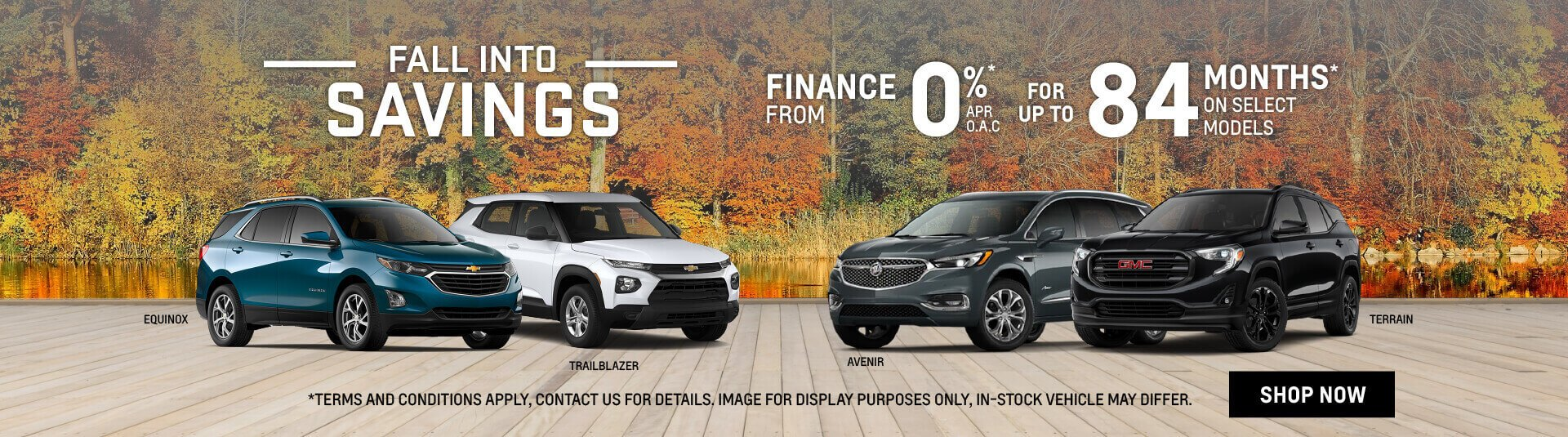 GM Fall Into Savings Sale in Etobicoke, Toronto - Humberview GM